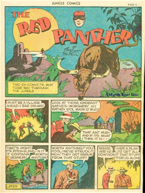 fiction house from pulps to panels from jungles to space books the comic book catacombs the panther in quot the pitch