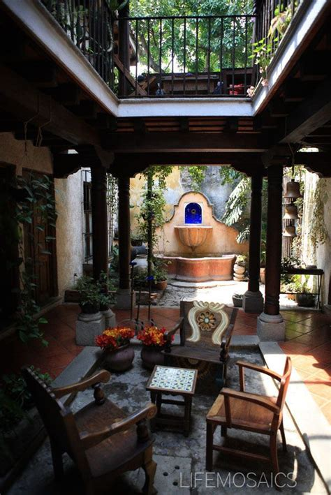 spanish style homes with interior courtyards 25 best ideas about spanish courtyard on pinterest