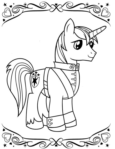coloring pages free my pony my pony coloring pages barriee