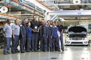 Mercedes Plants In The World Mercedes South Africa Production Plant Takes Silver