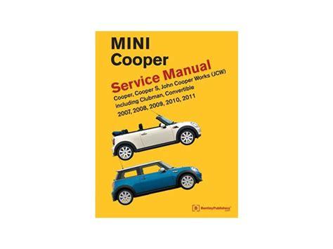 service manual free repair manual 2011 mini cooper countryman ecs news mini cooper cooper s mini cooper repair manual service 2007 2011 r55