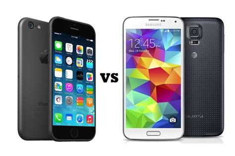 Samsung V Iphone Iphone 6 Vs Samsung Galaxy 5s Which Is Better For Business