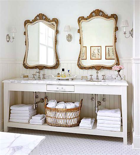 Antique Bathroom Mirrors by Out Your Basic Bathroom Mirrors With Glam Antique