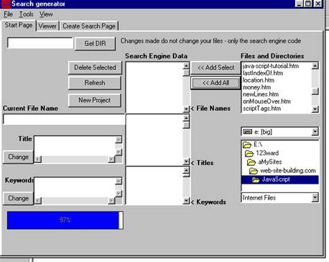 javascript pattern builder search generator