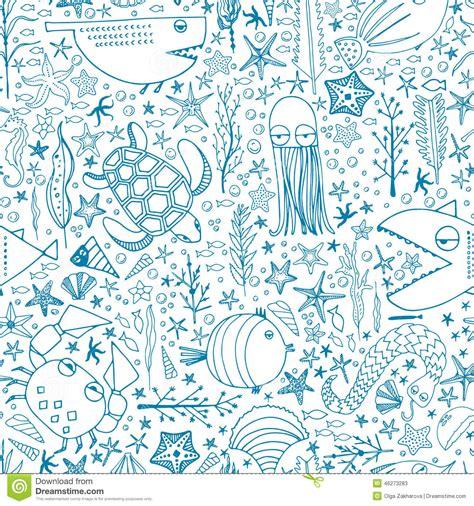 underwater pattern background underwater pattern stock illustration image 46273283