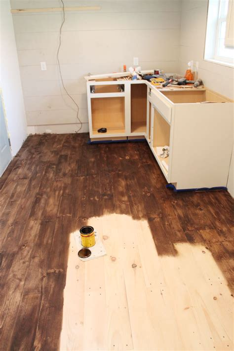 diy hardwood floors under 1 50 sq ft the harper house