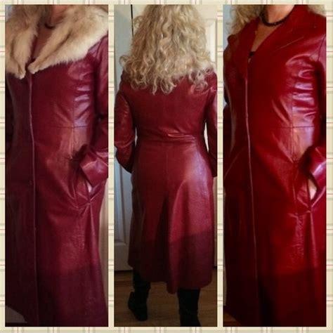 Pristine Coat muscalus furs pristine 3 4 leather coat with fur
