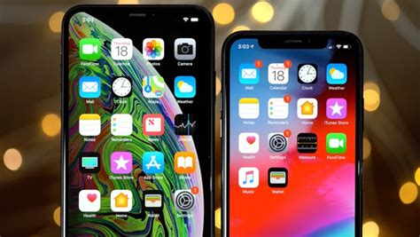 one month later iphone xs against the iphone x in the real world