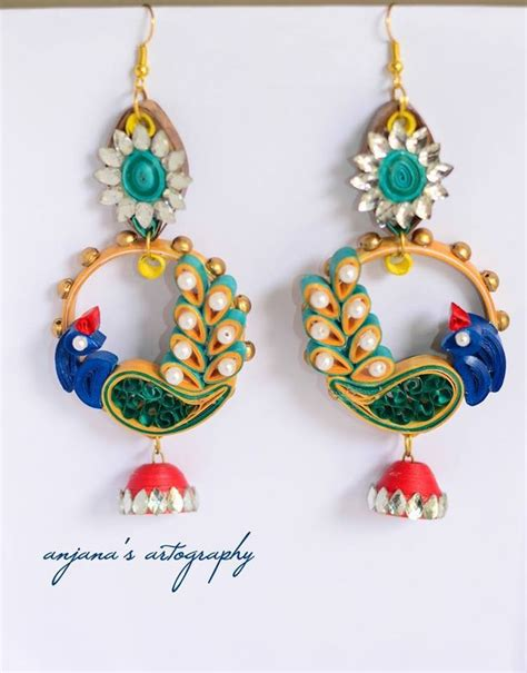 How To Make Earring With Paper - 306 best images about quilling jewlery on