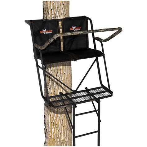 comfortable tree stands big game 174 16 big buddy ladder tree stand 621662 ladder