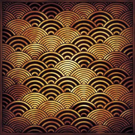 japanese pattern wave japanese traditional waves pattern seigaiha 青海波 pattern