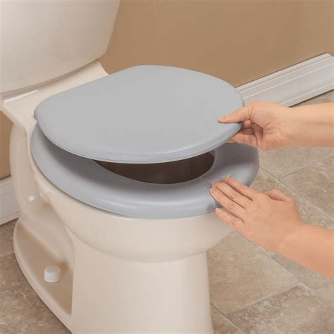 padded toilet seat cover padded toilet seat and lid cushioned toilet seat