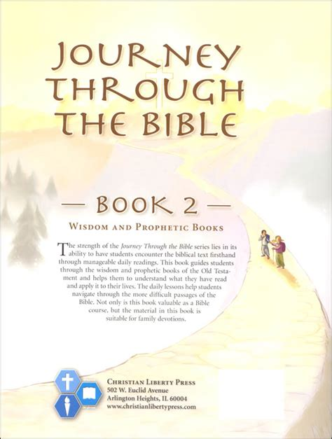 the journey a walk through scripture books journey through the bible book 2 wisdom and prophetic