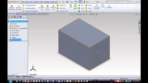 solidworks tutorial creating plane how to change the plane in a solidworks drawing doovi