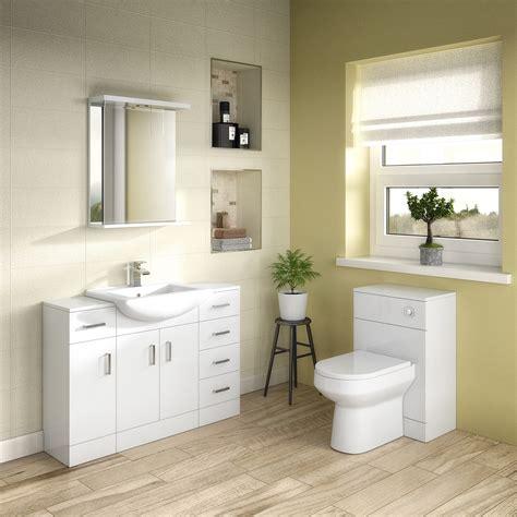Premier Mayford Storage Unit Prc172 250mm White Premier Bathroom Furniture