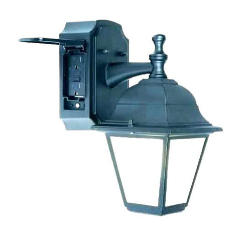 flood light with outlet porch light with outlet lighting fixtures outdoor light