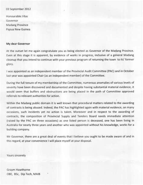 corruption rife madang provincial administration