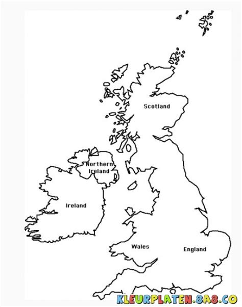 Free Map Of Britain Coloring Pages Coloring Pages Uk