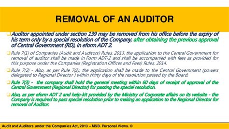companies act section 45 discussion on chapter x audit and auditors under the