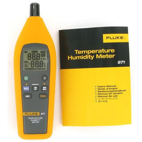 Eutech Ecoscan Temp 5 Temperature Meter 1 fluke 971 temperature humidity meter 95969287517 ebay
