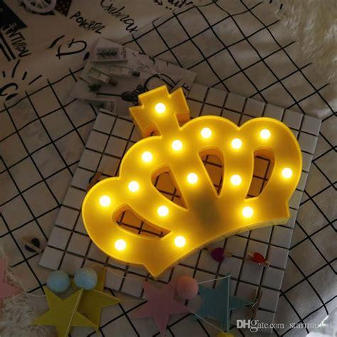 2017 new wall lights creative led wall l bedroom bedside princess crown 3d night light led l creative wall l