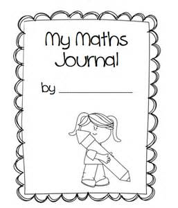 1st grade math journal cover missmernagh com