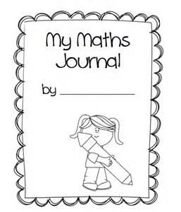 maths book cover template 1st grade math journal cover missmernagh