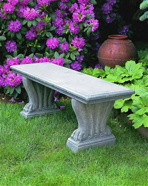 garden benches cement concrete garden bench smalltowndjs com