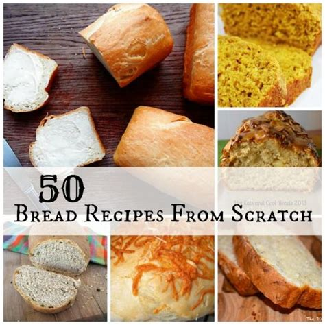 bread recipes from scratch different types of bread