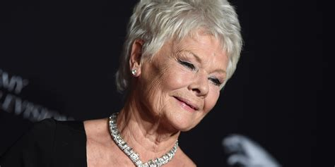 judy dench hairstyle front and back of head judy dench hairstyle front and back