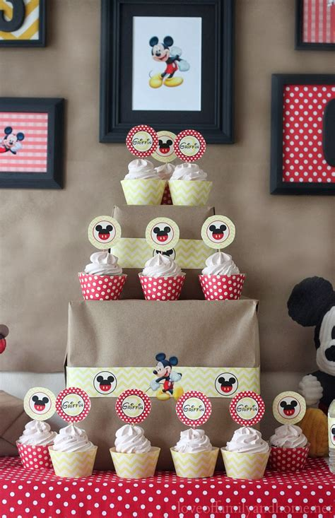 printable mickey mouse party decorations 5m creations mickey mouse party decorations chevron and