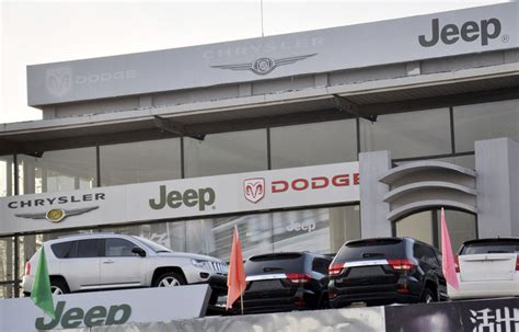 Chrysler Dealerships Uk China Fines Audi Chrysler On Monopoly Charges Daily