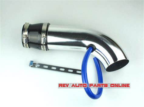 Pipa Intake Alumunium Diskon free shipping silver universal fitting aluminum intake pipe car air filter intake pipe in air