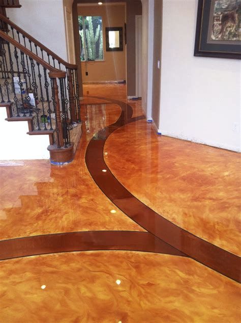 home design flooring residential flooring solution epoxy flooring acid staining decorative concrete overlay