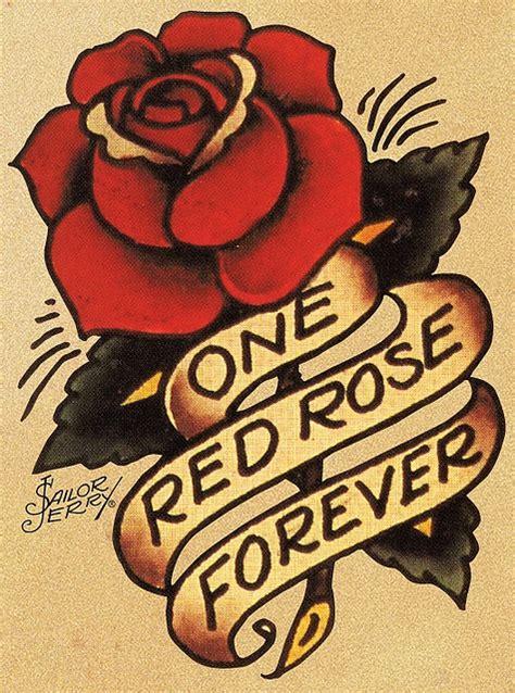 sailor rose tattoo sailor jerry flash tattoos