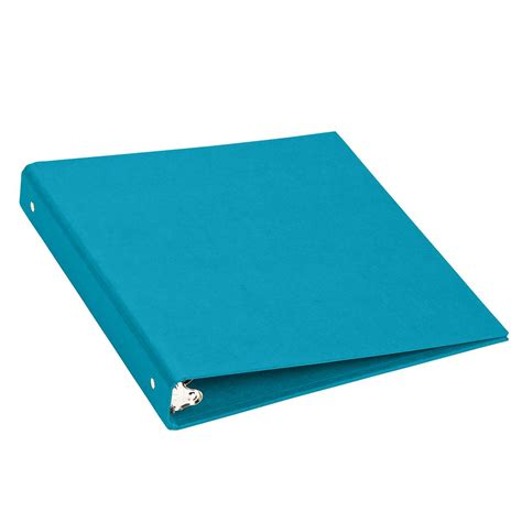 Three Ring by Bigso Turquoise 1 Quot Three Ring Binder The Container Store