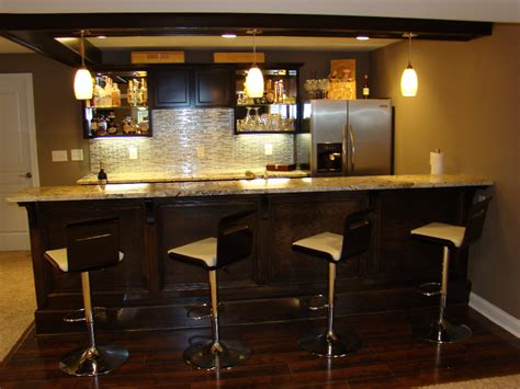 Kitchen Cabinets Bars by Basement Bars Lighting Crazy Ideas Good Basement Bars