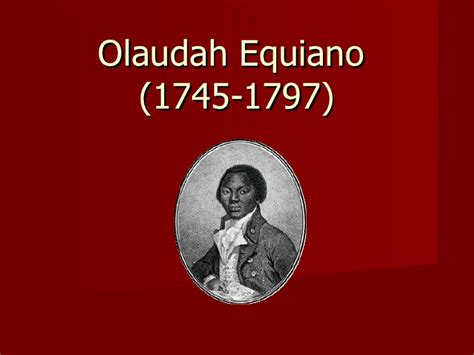 the of olaudah equiano books olaudah equiano