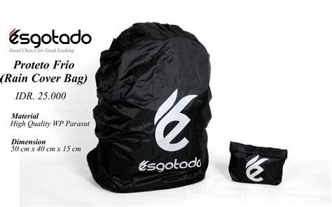 Cover Proteto Frio Black Cover Bag Pelindung Tas proteto frio cover bag esgotado brand
