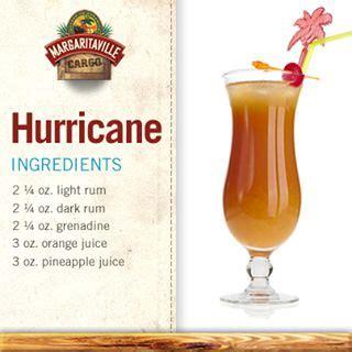 best hurricane cocktail recipe