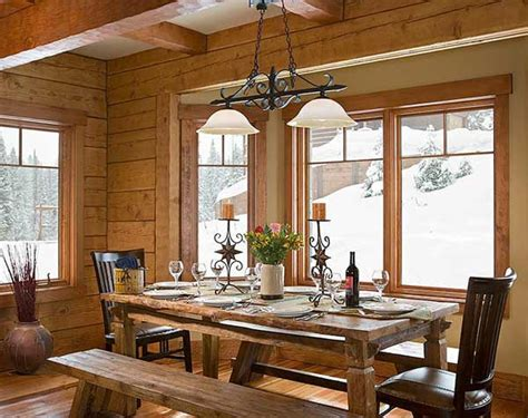 ski lodge photos produced by precisioncraft log homes