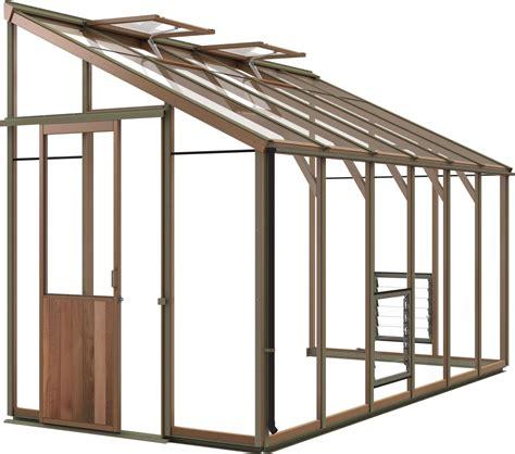 Glass Roof 5403 by Evolution Six Lt 6x12 Greenhouse