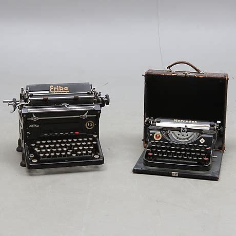 jielde lada slutpris f 246 r skrivmaskiner 2 st erika standard