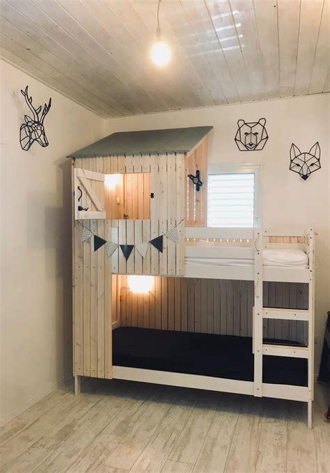 Deko Ideen Diy 3555 by A Wooden House Built On Ikea Mydal Bed Kinder Bett