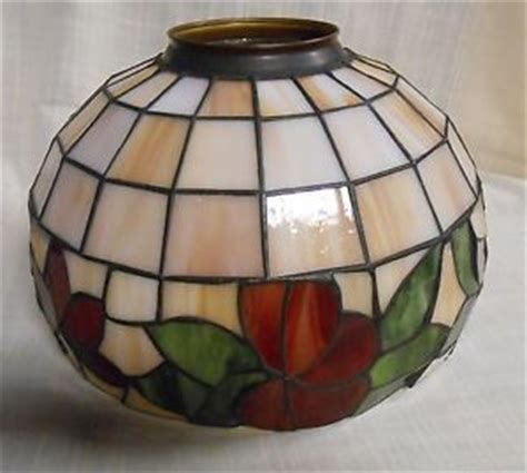 stained glass ceiling fan globes ceiling fan replacement stained glass globe light or