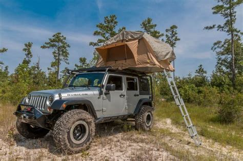 Jeep Rooftop Tent 001 2007 Jeep Wrangler Unlimited Jk Smittybilt Roof Top