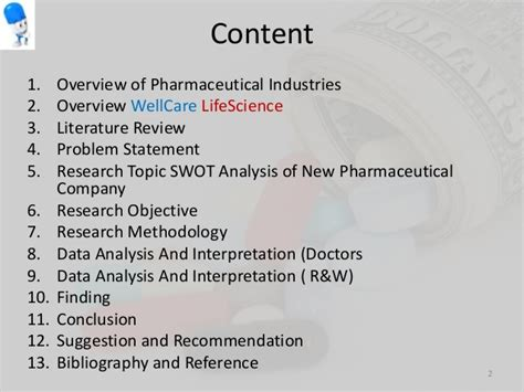 Mba Swot Analysis Of Pharmaceutical Industry by 148320592002 Swot Analysis Of New Pharmaceutical Companies