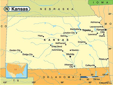 map of us states kansas kansas global villageglobal