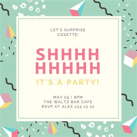 design party invitation invitation maker design your own custom invitation cards