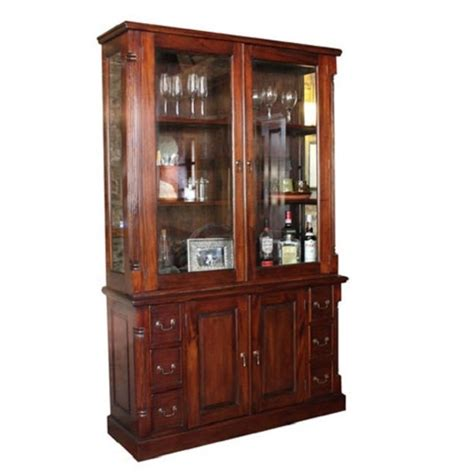 Display Cabinets With Glass Door Belarus 2 Glass Doors Display Cabinet With Sideboard In